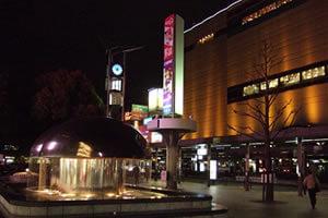 家広島駅の噴水で出会った神待ち